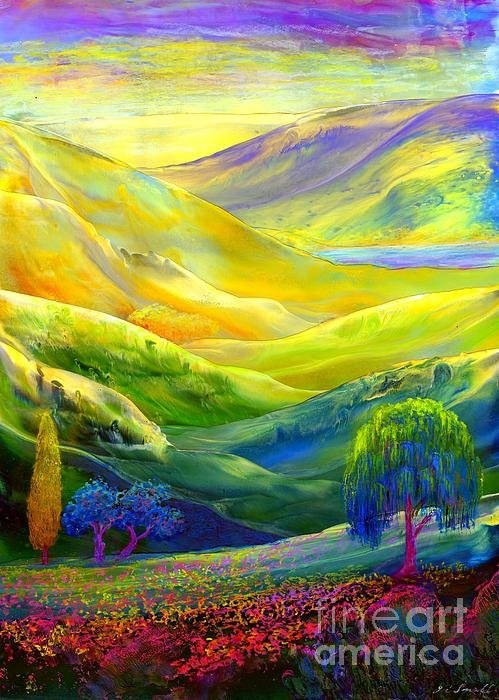 Jane Small - Amber Skies Print