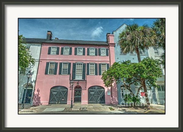 Dale Powell - The Pink House Print