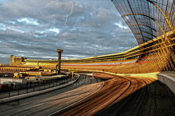 Charles Dobbs - Texas Motor Speedway Print