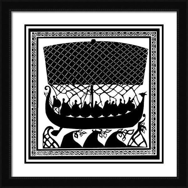 Virginia Vivier -  Esprit Mystique - Viking Ancient Mariners Print