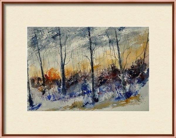 Pol Ledent - Watercolor 45412022 Print