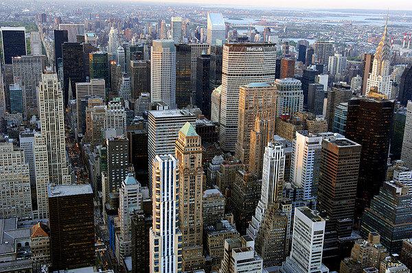 Jeremy Walker - Skyscrapers, Manhattan, N... Print