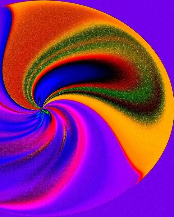 Terril Heilman - Whirling Dervish Print