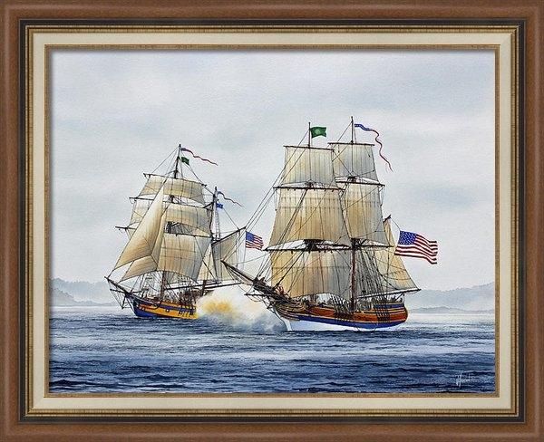 James Williamson - Battle Sail Print