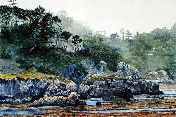 Bill Hudson - Whalers Cove II Print