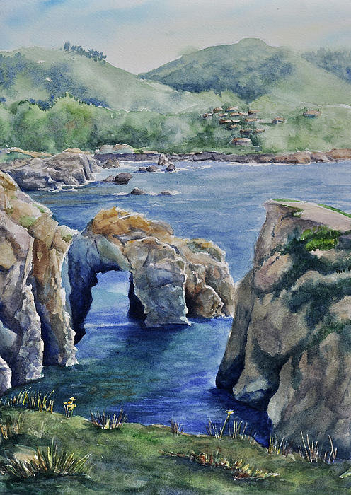 Sandy Fisher - Natural Arch - Carmel Print