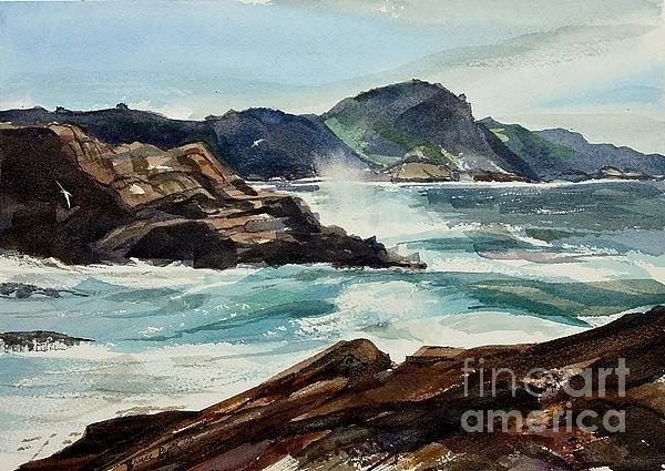 Bruce  Repei - Point Lobos California Print