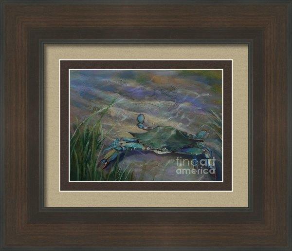 Susan Bradbury - Chesapeake Bay Blue Crab Print