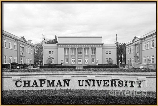 University Icons - Chapman University Memori... Print