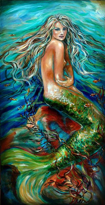 Linda Olsen - Glorious Depths Print