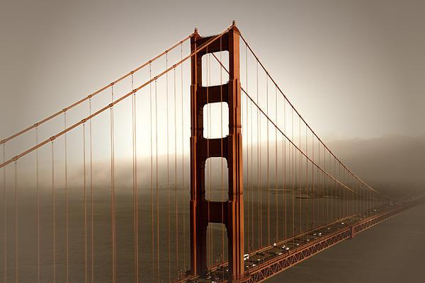 Melanie Viola - Golden Gate Bridge Print