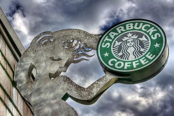 Spencer McDonald - Starbucks Coffee Print