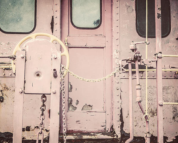 Lisa Russo - The Pink Caboose Print