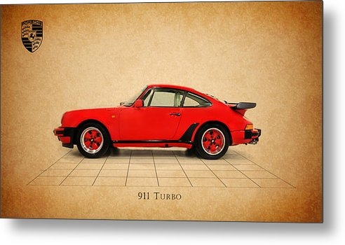 Mark Rogan - Porsche 911 Turbo 1985 Print