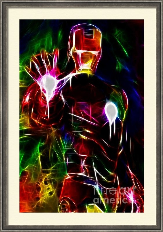 Pamela Johnson - Cool Ironman Art Print