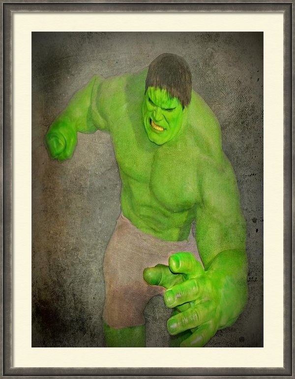David Dehner - Hulk the Angry Guy Print