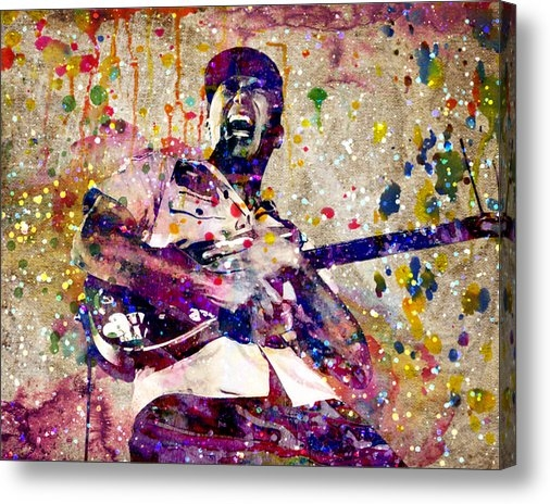Ryan RockChromatic - Tom Morello Original Print