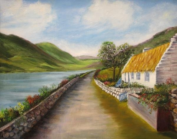 Irene McDunn - Irish Cottage Print