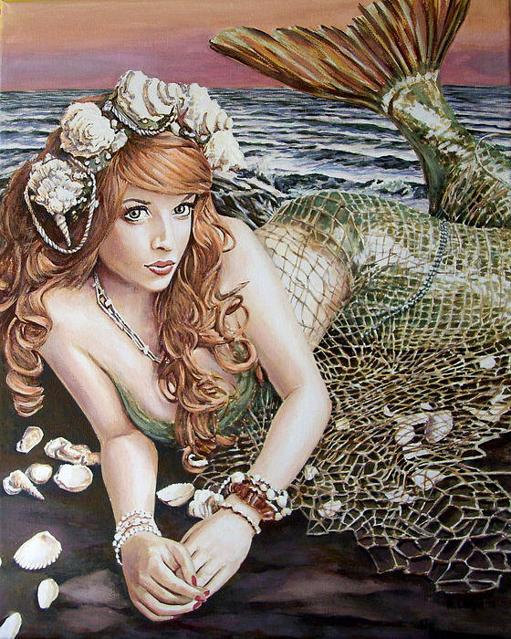 Andy Lloyd - Turn Loose the Mermaid Print
