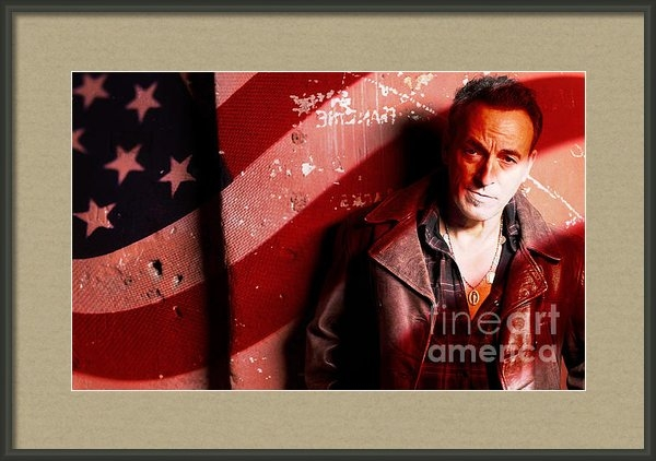Marvin Blaine - Bruce Springsteen Today a... Print
