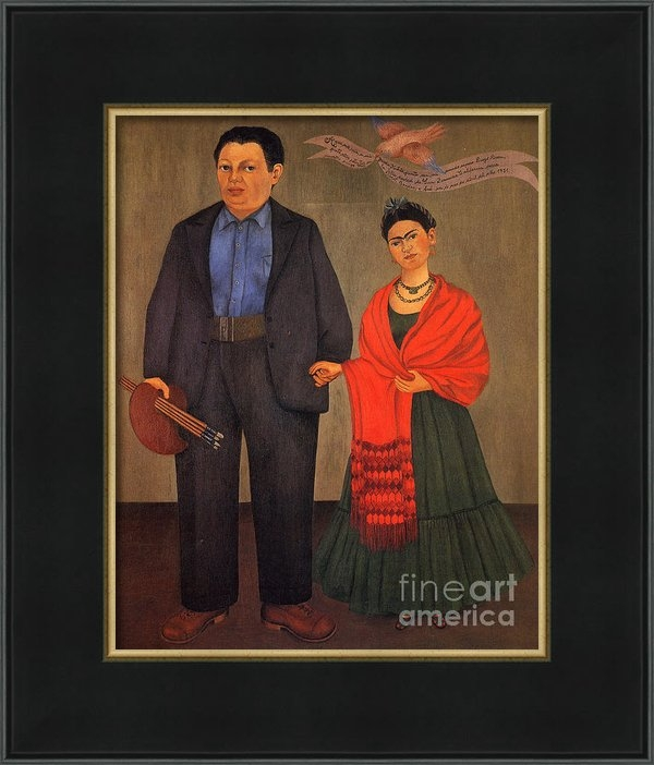 Pg Reproductions - Frida Kahlo and Diego Riv... Print