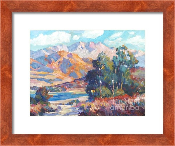 David Lloyd Glover -  California Lake Print