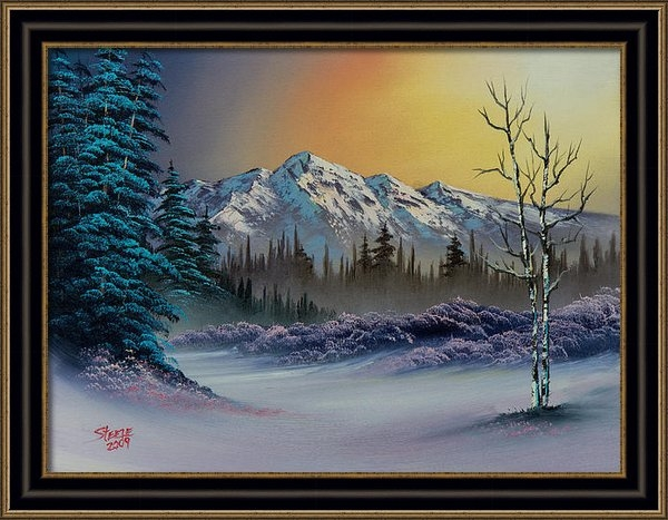 C Steele - Frosty Enchantment Print