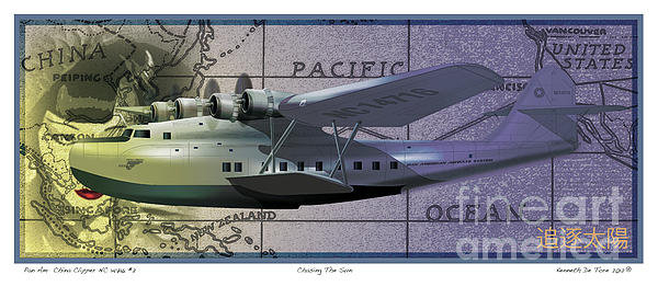 Kenneth De Tore - China Clipper Chasing The... Print