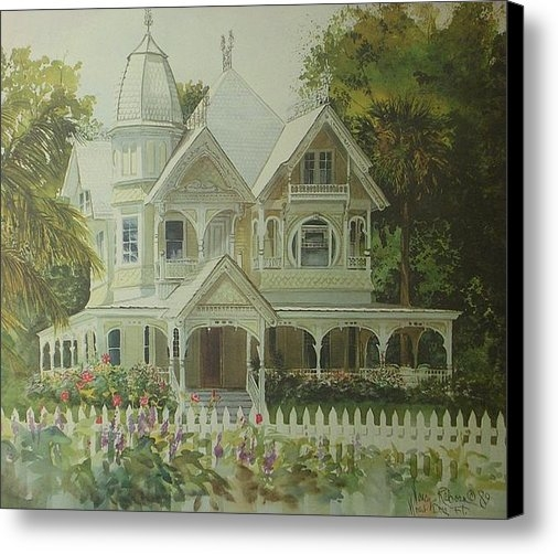 Nancy Raborn - The Donnellly House Print