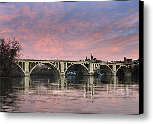 Brendan Reals - DC Sunrise over the Potom... Print
