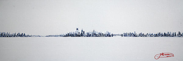 Jack Diamond - Skyline 10x30-2 Print