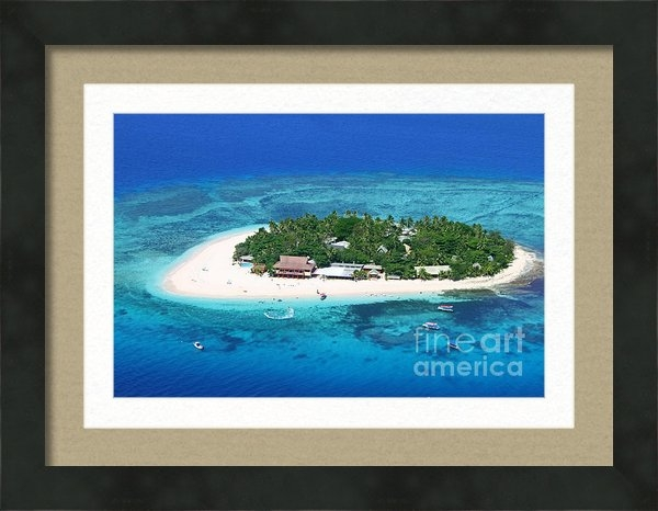 Lars Ruecker - Paradise Island in South ... Print