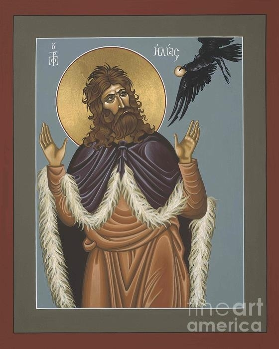 William Hart McNichols - Holy Prophet Elijah Print