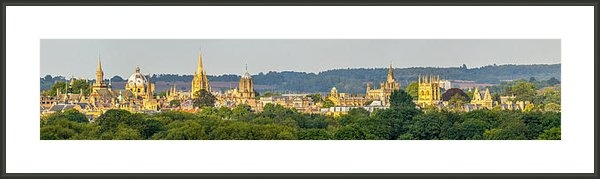 Ken Brannen - Oxford University Panoram... Print
