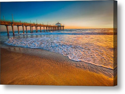 Fernando Margolles - Sunset By The Pier Print