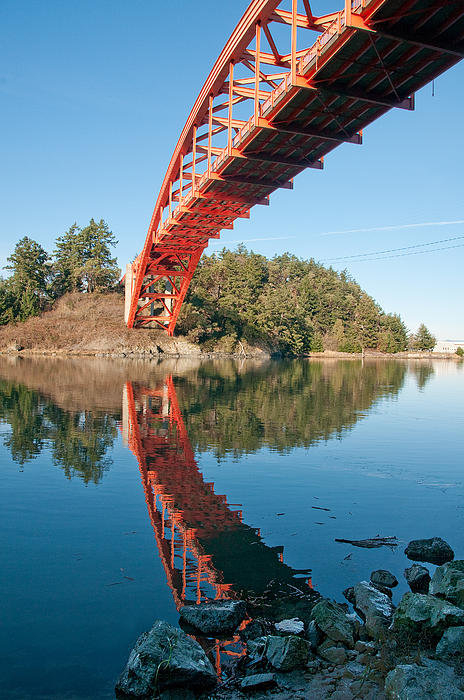 Kent Sorensen - Bridge Over Untroubled Wa... Print