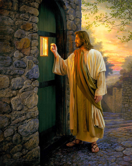 Greg Olsen - Let Him In Print