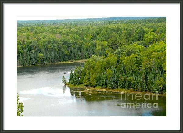 Lisa Schafer - Au Sable River Print