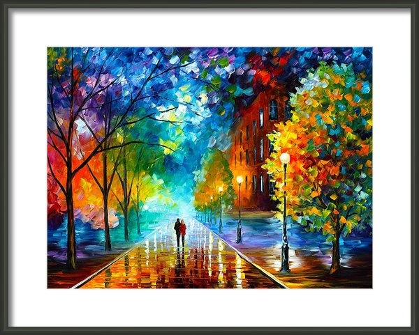 Leonid Afremov - Freshness Of Cold Print