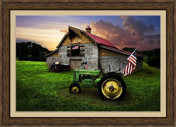Debra and Dave Vanderlaan - God Bless America Print