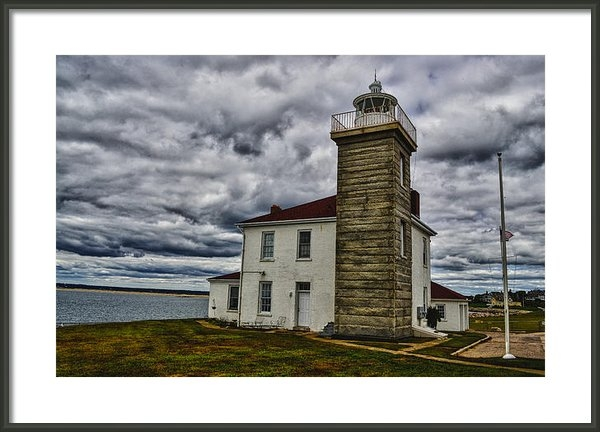 Raymond J Deuso - Watch Hill Lighthouse Print