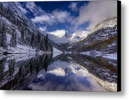 Jon Reynolds - Maroon Bells Blues Print