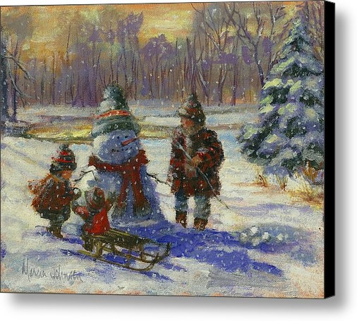 Marcia Johnson - Winter Friend Print