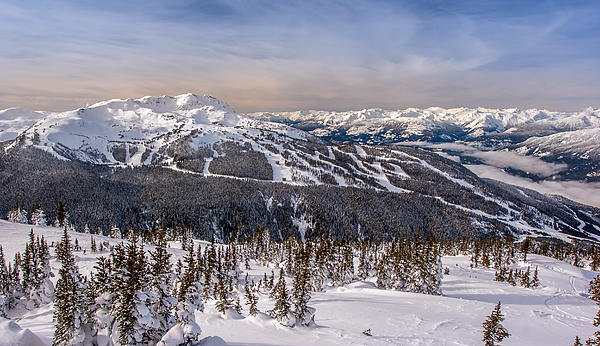 Pierre Leclerc Photography - Whistler Mountain Winter Print