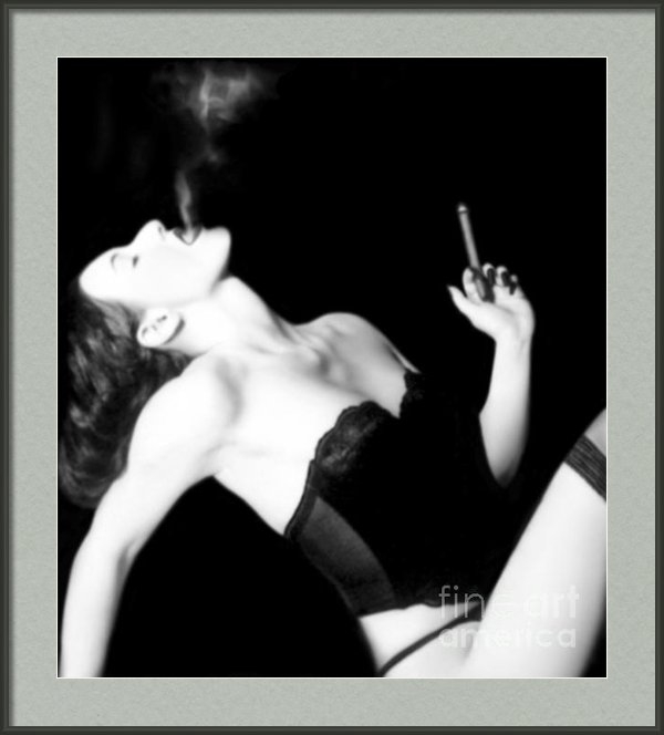 Jaeda DeWalt - Smoke and Seduction - Sel... Print