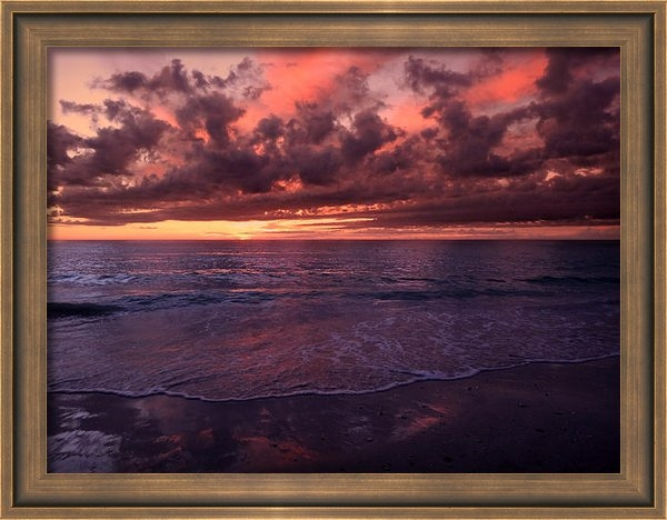 Jeremy Smith - Calm Summer Sunset Print