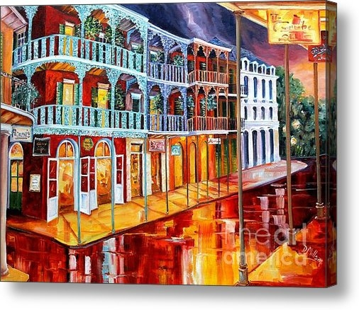 Diane Millsap - New Orleans Reflections i... Print