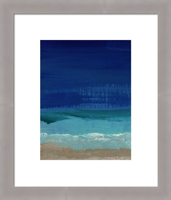 Linda Woods - Calm Waters- Abstract Lan... Print