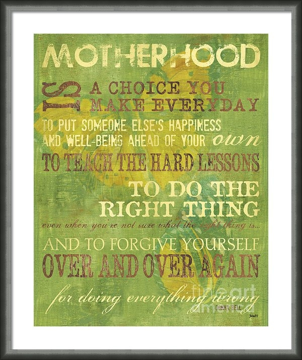 Debbie DeWitt - Motherhood Print