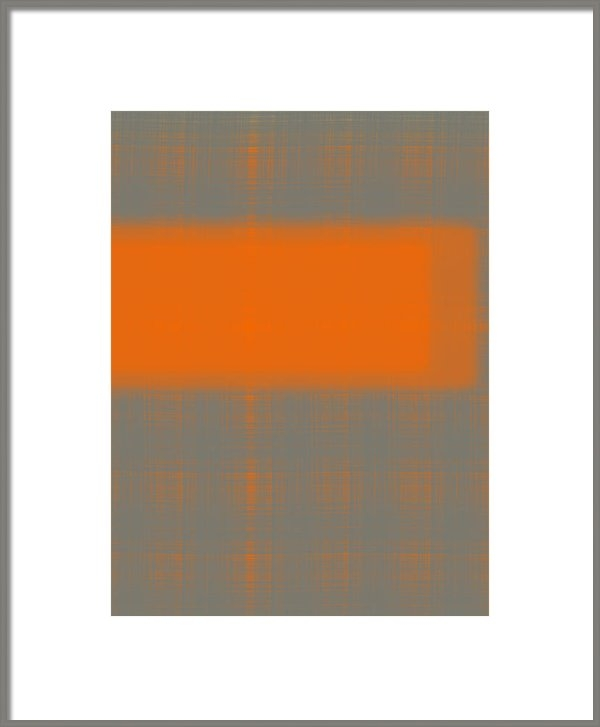 Irina  March - Abstract Orange 3 Print